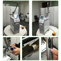 CE approved Korea imported 7 joints light electronics q switch nd yag laser tattoo removal machine
