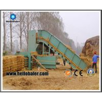 Hydraulic Automatic Straw Baling Machine for Biomass Power Plant