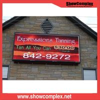P10 Front Service Outdoor Full Color LED Advertising Display thumbnail image