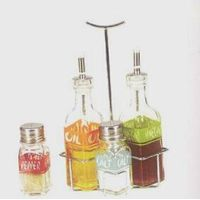Oil and Vinegar Bottles--003