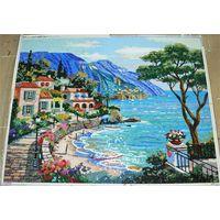 ZF-JH013 landscape oil patterns glass mosaic art mural wall decration design similar sicis thumbnail image