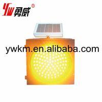 diameter 200mm 300mm 400mm solar traffic warning light yellow thumbnail image