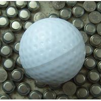 Golf gift: compressed towel in golf shape