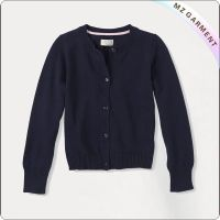 Navy Uniform Cardigan