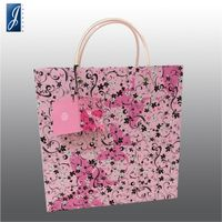 Customized paper bag for BUTTERFLY