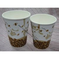 disposable corrugated paper cups