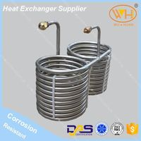 Heat exchanger tube , spiral tube heat exchangers