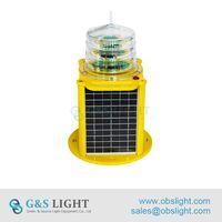 South America popular 12v rechargeable GPS SYNC Medium intensity aircraft warning Led floor light thumbnail image
