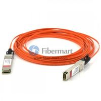 20M(65.6ft) 40GBASE QSFP+ to QSFP+ Active Optical Cable thumbnail image