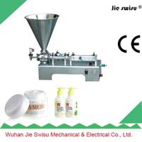 Factory Sale 304 Stainless Steel Pneumatic Cream Filling Machine thumbnail image