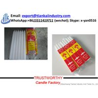 10g-100g stick white candles for home decoration thumbnail image