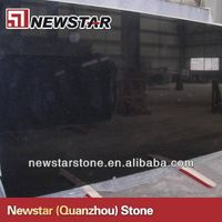 Newstar cheap China black granite slabs