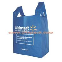 Customized t shirt 45gsm non woven bag