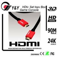 Support 3D,3 foot HDMI 1.4 Cable thumbnail image