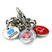 Trolley Coin key chain/ token /Corp keys