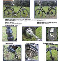 28inch alloy 6 speed 8fun motor city electric bike electric bike/ e bike with CE