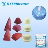 Red/white pad printing silicone rubber