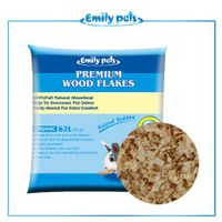Emily Pets Wood Shaving for Small Pets 1KG