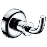 Bathroom accessories Chromed brass Robe hook