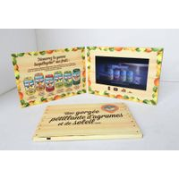 video brochure, video floder, video mailer, LCD card