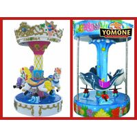 China suppliers Amusement rides new products 3 seats mini carousel for sale