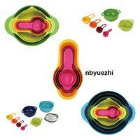Plastic Mixing Bowls Set