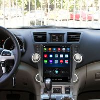Vertical Screen 12.1 Inch Android Car Multimedia Navigation For Toyota Highlander 2009-2014 thumbnail image