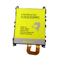3.8v 3000mAh LIS1525ERPC li-ion cell phone Lithium Battery Replacement for Sony L39h C6903