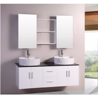 wall hanging luxury italian bathroom vanity with mirror