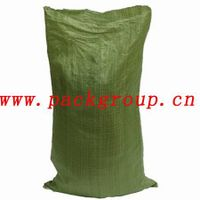 green pp woven garbage bags