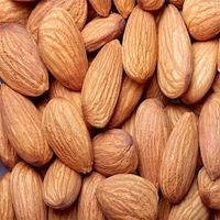 organic almond in shell, almond nuts