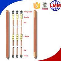 hammer lock for grounding rod