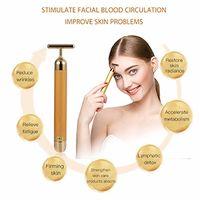 Beauty Bar 24K Golden Facial 3D Roller Massager Tool