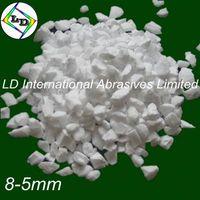 Refractory material white tabular alumina