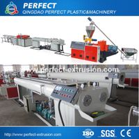 PVC double pipe production line,twin pipe extrusion machinery