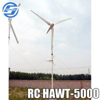 5kw horizontal axis wind turbine generator for sale