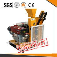 interlock block WT1-25 diesel engine block and brick making machine thumbnail image