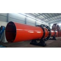 large output and competitive price sand rotary drum dryer