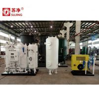 PSA N2 Generator with N2 flow 200Nm3/h, purity 99.99% for Food and Pharmaceutical Industry