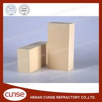 qualified manufacturer zircon refractory brick for glass kiln