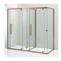 Customized 3 spaces big size rectangle shape rose gold shower room thumbnail image