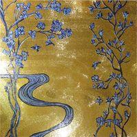 ZF-JH010 similar sicis gold glass mosaic art mural thumbnail image