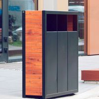 Decorative Wood Dustbin [Special Design] [FREE FREIGHT] thumbnail image
