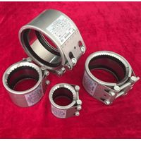 double lock and splite pipe repair clamps