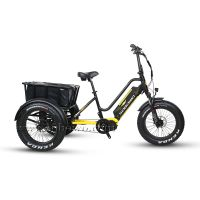 Powerful 750W/1000W Bafang ULTRA Mid Motor Three Wheel Fat Tire Bicycle/ Electric Tricycle for Adult thumbnail image