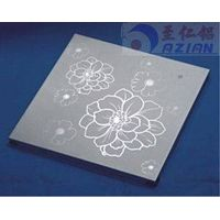 Artistic Aluminum Wall Panel / Custom Art Flowers Carved Decoration Ceiling tiles thumbnail image