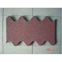 Interlocking Z-Brick Rubber Tile
