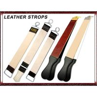 PROFESSIONAL LEATHER STROP STRAP BELT FOR STRAIGHT SHAVING RAZOR