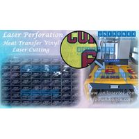Unikonex laser perforation and heat transfer vinyl laser cutting