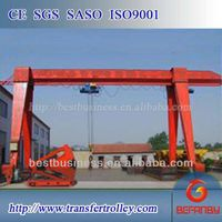 16t Single Girder MH Type Gantry Crane